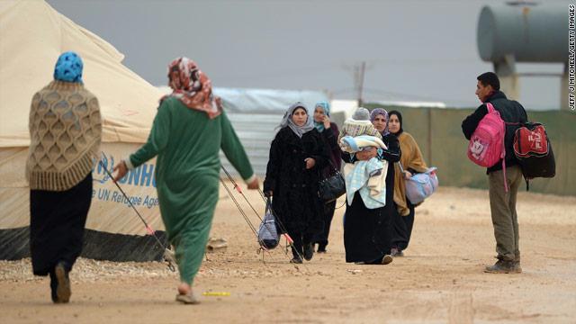اصابات بالايدز بين اللاجئين السوريين