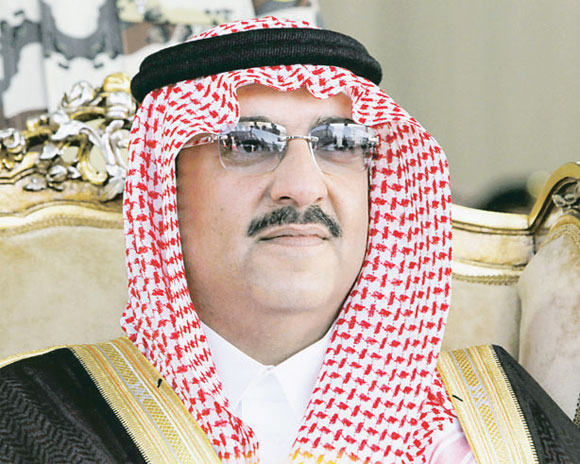 وزير الداخلية الأمير محمد
